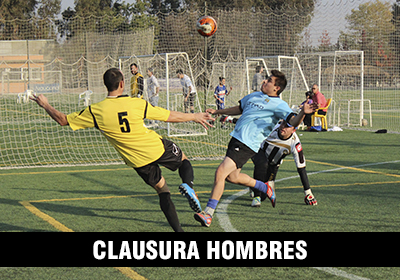 CLAUSURA HOMBRES LIGA DE FUTBOLITO MASTER LEAGUE